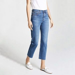Levi's Wedgie High Waisted Straight Jeans